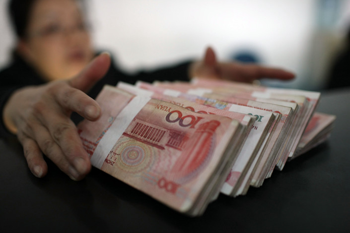 Analysts said they expect credit growth to rebound in May as easing measures take effect. Photo: IC Photo