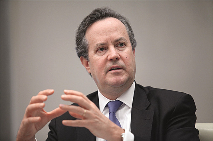 Douglas Peterson, CEO of S&P Global Inc.Photo: File photo