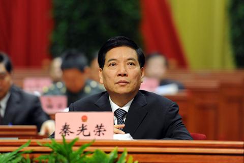 Qin Guangrong. Photo: China News Service