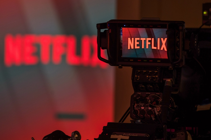 Even though Netflix isn't available in China, the company has acquired programs in Mandarin to appeal to the Chinese diaspora around the world. Photo: Bloomberg