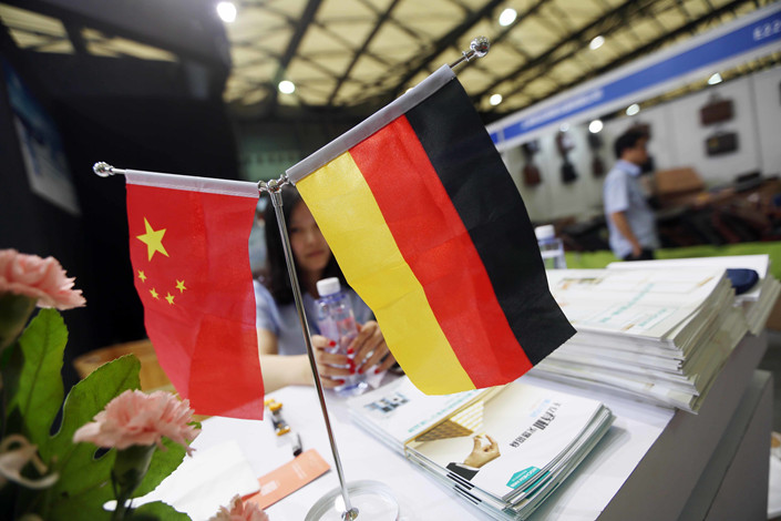 Chinese greenfield investments in Germany fell 13.8% last year as China enacted currency controls to ease pressure on the yuan. Photo: IC Photo