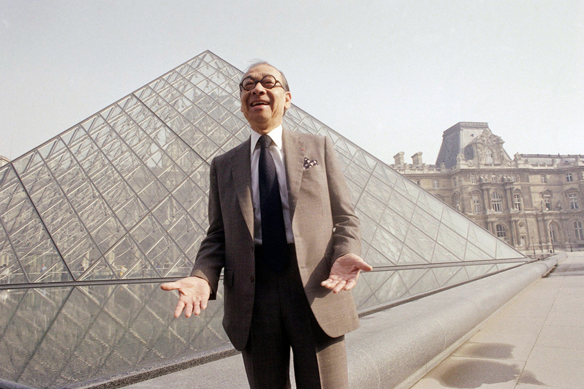 Gallery: I.M. Pei, Who Designed the Louvre's Glass Pyramid, Dies at 102.