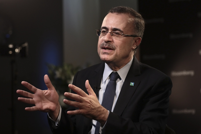 Saudi Aramco CEO Amin Nasser. Photo: VCG