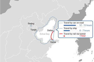 China Mulls Next Super Project: The Longest Undersea Tunnel