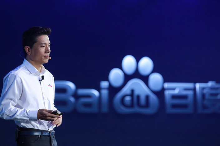 Baidu's CEO Robin Li. Photo: VCG