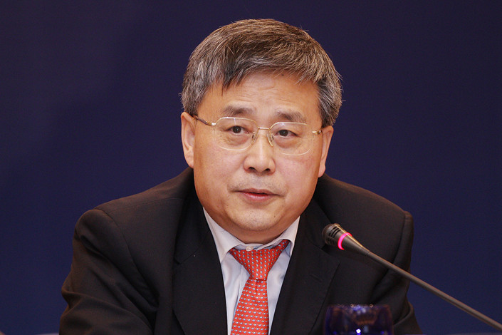 CBIRC Chairman Guo Shuqing. Photo: VCG