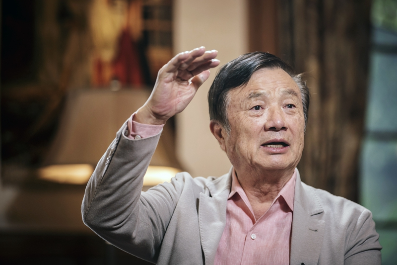 Ren Zhengfei. Photo:VCG