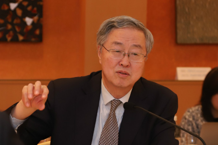 Zhou Xiaochuan. Photo: Caixin