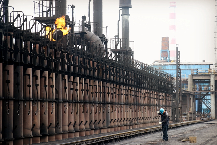 A Magang coking plant in East China's Anhui province on July 3. Photo: IC Photo