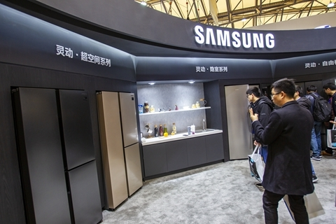 Samsung is shrinking its workforce for smartphone manufacturing in China. Photo: VCG