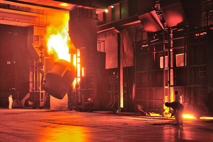 North China's Hebei province's steel output jumped almost 19% year-on-year in the first quarter of this year to almost 57.53 million tons. Photo: VCG