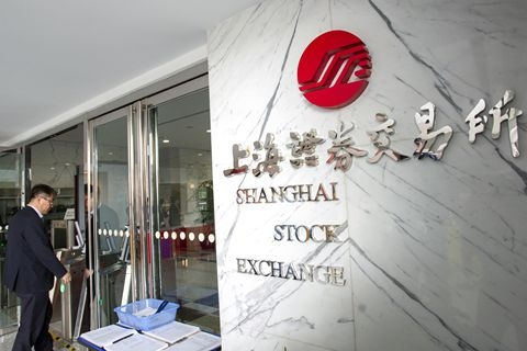 The Shanghai bourse approved the first three companies to float on the new high-tech board. Photo: VCG