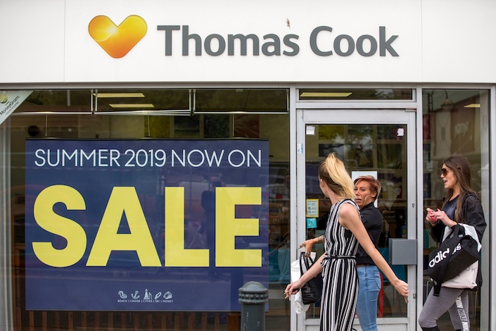 Thomas Cook and Fosun set up a travel agency partnership to cater wealthy Chinese tourists in 2016. Photo: Bloomberg