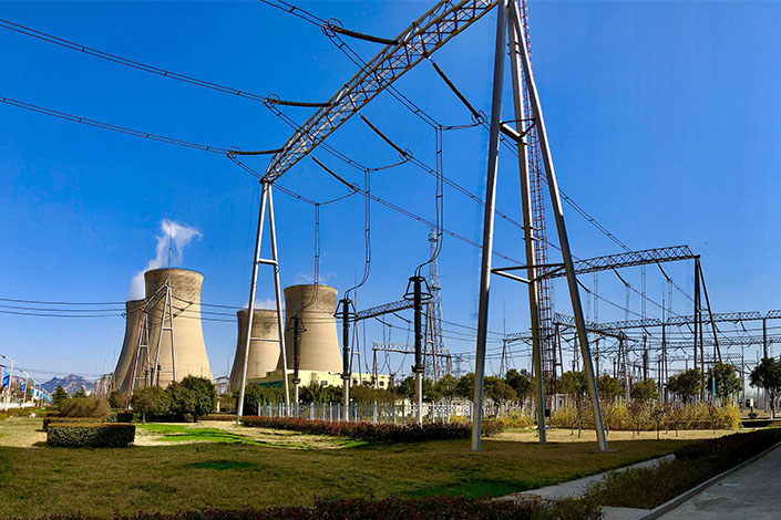 A power station in Jining, East China's Shandong province, in February 2018. Photo: VCG