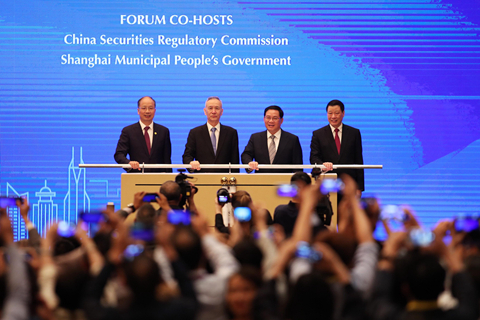 Liu He called for regulators to step up financial support for the economy and keep reasonably ample liquidity in the financial system. Photo: VCG