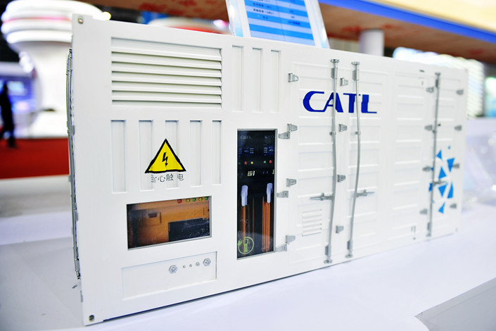 Electric vehicle battery giant CATL originally planned to invest 240 million euros in the facility in Germany, which would have a total capacity of 14 GWh per year. Photo: VCG