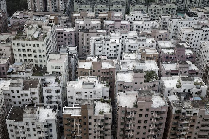 Chinese policymakers remain committed to curbing risks in the real estate market. Photo: Bloomberg