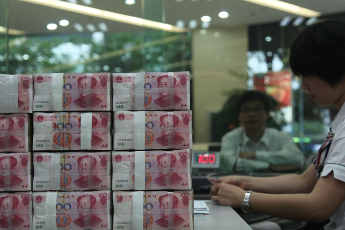 The city of Ningbo's banking regulator has advised local banks to accept more intellectial property and other intangible assets as collateral for loans to small enterprises. Photo: VCGc