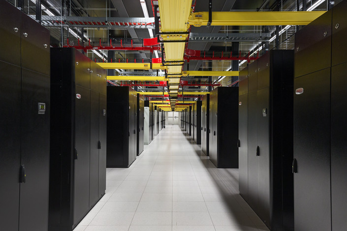An Equinix data center in Amsterdam. GIC is entering a joint venture with the company in Europe. Photo: IC Photo