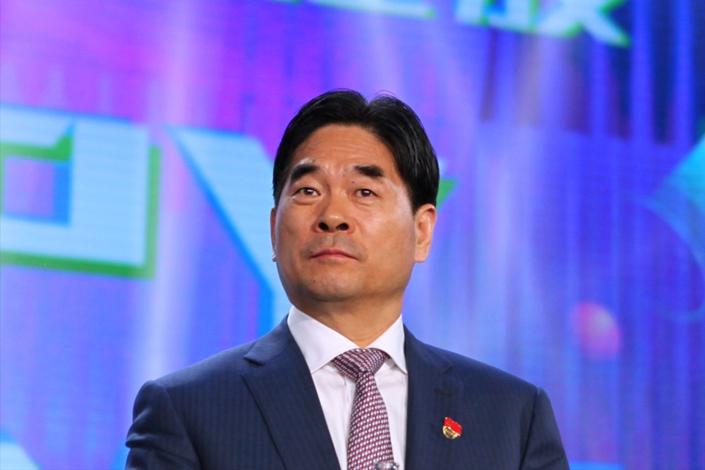 Founder of Future Land Development Holdings Ltd. Wang Zhenhua. Photo: IC Photo