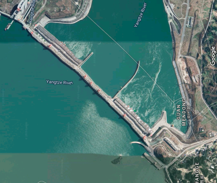 Three Gorges Dam Map Officials Deny Reports That Three Gorges Dam Is Structurally