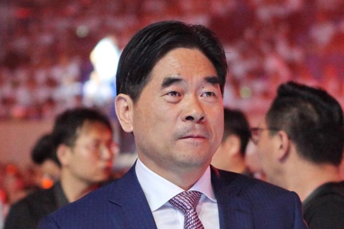 Real estate tycoon Wang Zhenhua. Photo: VCG