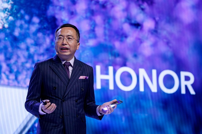 Zhao Ming, president of Huawei smartphone brand Honor. Photo: VCG