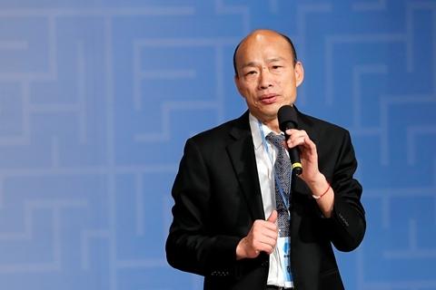 """台湾高雄""""罢免市长""""案投票过关 韩国瑜丧失市长职务"""