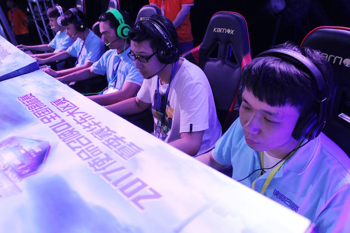 The value of China's esports market has more than tripled since 2015 to touch 112.8 billion yuan last year, around 7.1 times that of the U.S. market. Photo: VCG