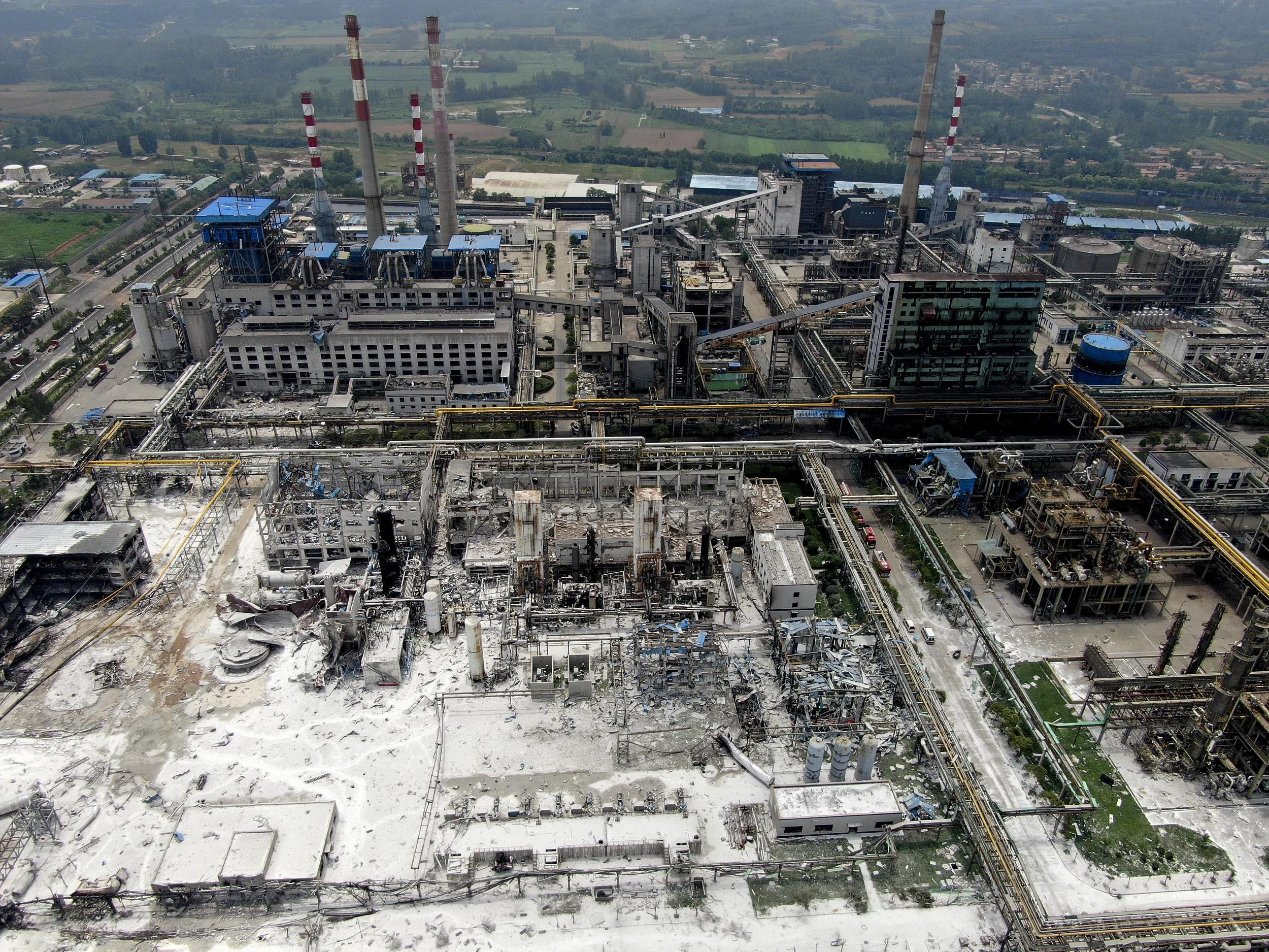 The Henan Coal Gas Group's gas factory is seen in Yima, Central China's Henan province on July 20. Photo: VCG