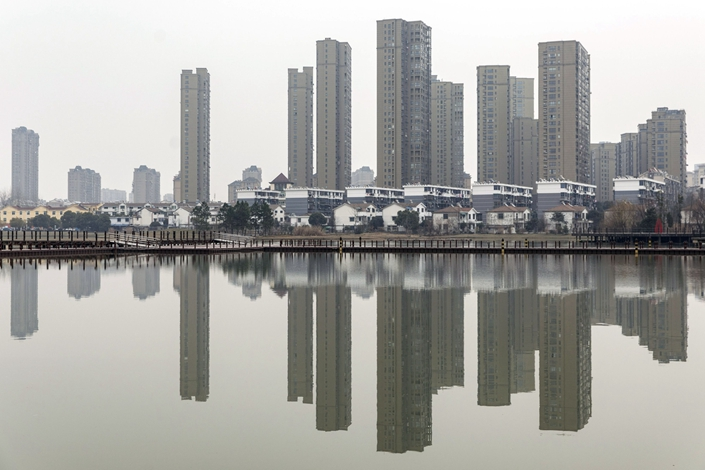 Since May, China's policymakers have sought to limit almost every financing avenue for developers to ensure they can't buy land at inflated prices and spark a property bubble. Photo: Bloomberg