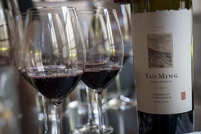 Yao Family Wines cabernet sauvignon Photo: Bloomberg