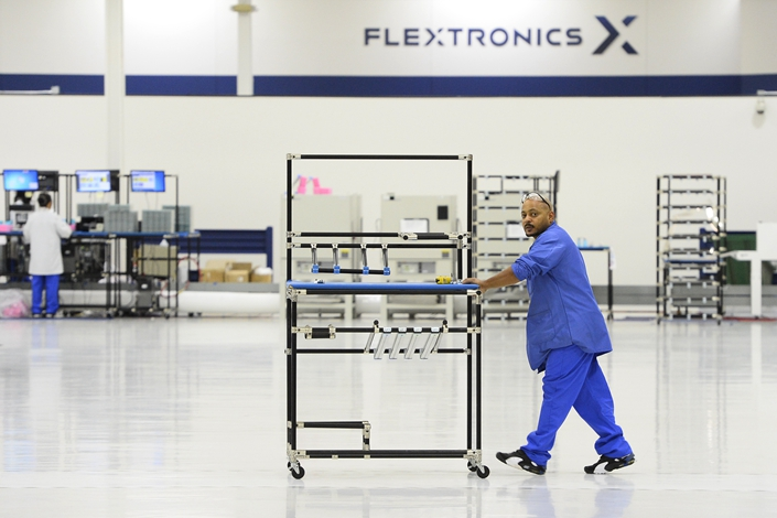 Flex operates more than 100 factories with 200,000 employees in more than 30 countries. Photo: VCG
