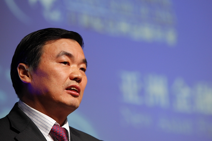 Hu Huaibang, former chairman of policy lender China Development Bank. Photo: VCG