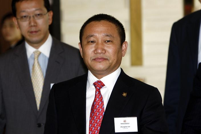 Liu Zhongtian, the former president and chairman of Zhongwang. Photo: Bloomberg