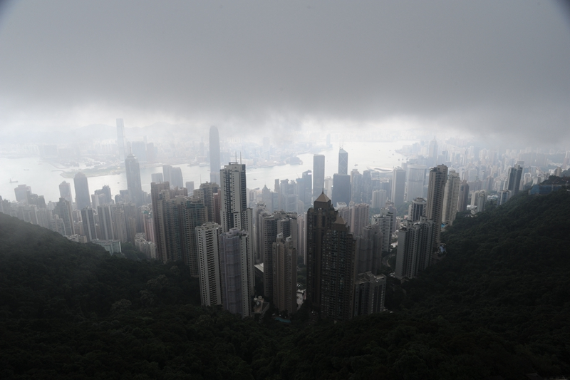 Real estate weakness directly affects Hong Kong's fiscal revenue and employment. Photo: VCG