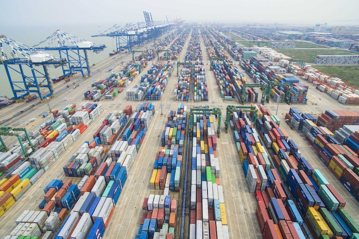 Trade tensions intensified over the weekend on new tariff threats. Photo: VCG