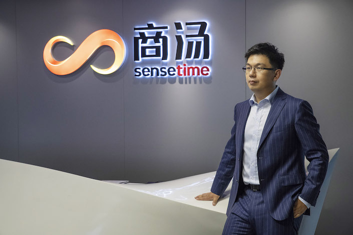 SenseTime Chief Executive Officer Xu Li. Photo: Bloomberg