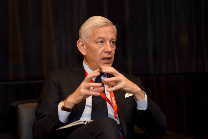 Dominic Barton, former managing director of McKinsey & Co., was named Canada's next ambassador to China amid a diplomatic stalemate between the two countries. Photo: Caixin