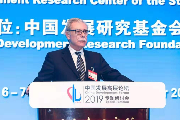 Former U.S. commerce secretary Carlos Gutierrez. Photo: China Development Forum