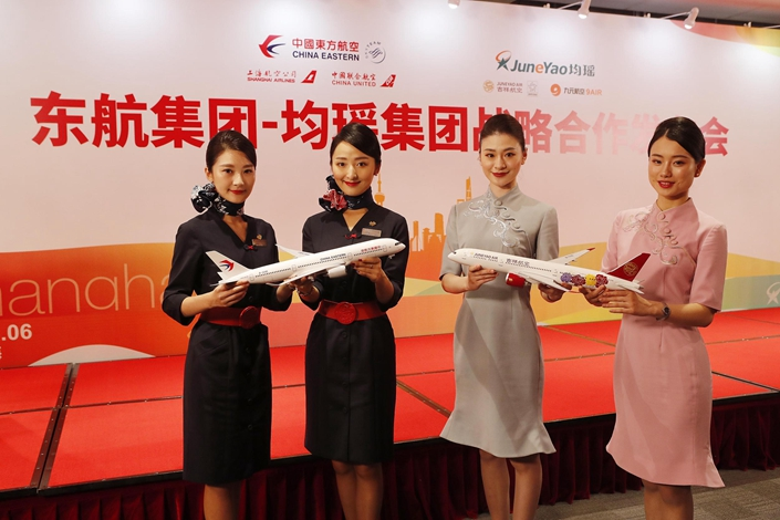 Two of Shanghai's Top Three Airlines Tie-Up to Create Regional Juggernaut