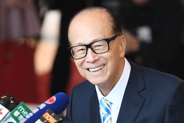 Li Ka-shing. Photo: VCG