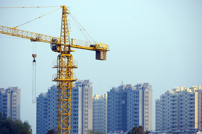 Regulators are telling China's banks to limit lending to property developers and homebuyers. Photo: VCG