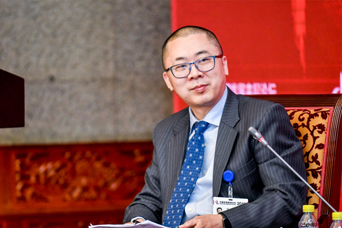 Wang Shuo, editor-in-chief of Caixin Media. Photo: China Development Forum