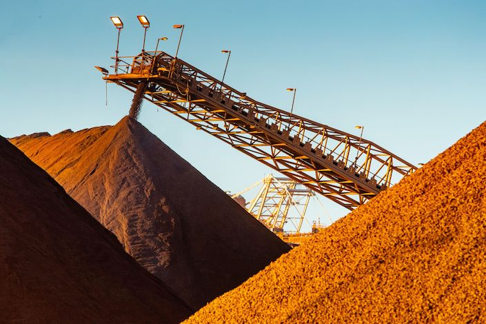 Weakening demand from China dampens the long-term outlook of iron ore, analysts say. Photo: Bloomberg