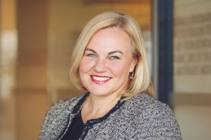Tourism Australia managing director Phillipa Harrison says the U.S.-China trade spat is affecting tourist numbers. Photo: AFR