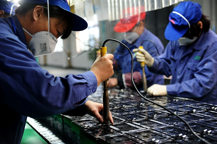 Established in 2009, Farasis has two production sites in China — one in Jiangsu province and the other in Jiangxi province. Photo: VCG