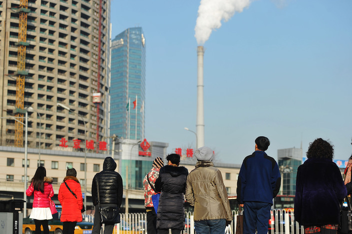China is the world's biggest emitter of greenhouse gases. Photo: VCG