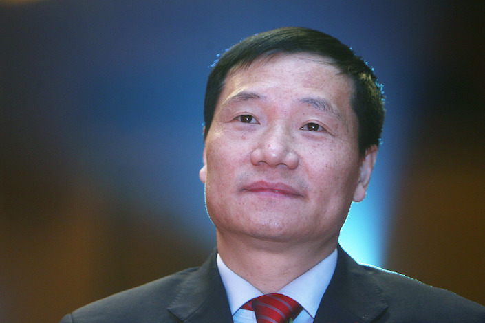 "Xiao Gang, former chairman of the China Securities Regulatory Commission, said the 2015 stock-market crash was ""inevitable."" Photo: VCG"