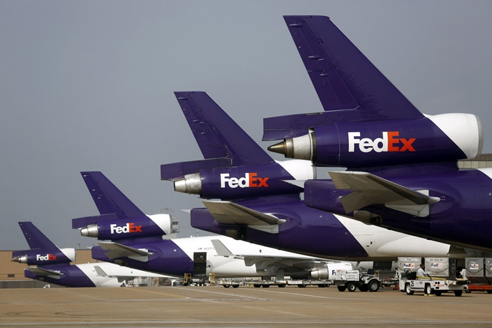 China: FedEx pilot suspected of 'smuggling weapons'